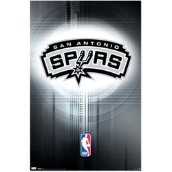 Wall Posters - San Antonio Spurs Logo 2010 Sports Poster