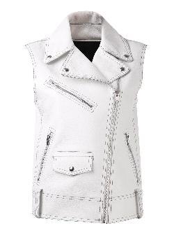 ALEXANDER WANG  - biker vest