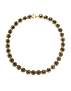 Karen Kane - Grey Stone Collar Necklace