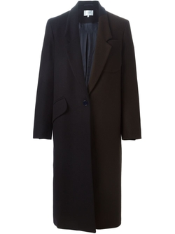 Carven   - Two Tone Long Coat