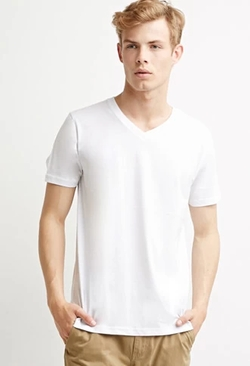 21Men - Classic V-Neck Tee