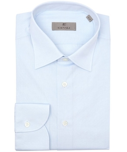Canali - Cotton Point Collar Dress Shirt