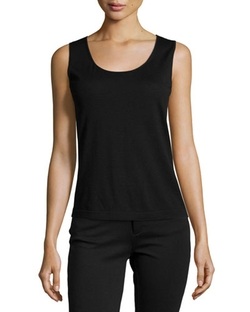 Lafayette 148 New York   - Scoop-Neck Wool Tank Top