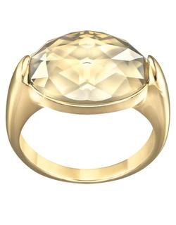 Swarovski - Vanilla Goldtone Crystal Ring
