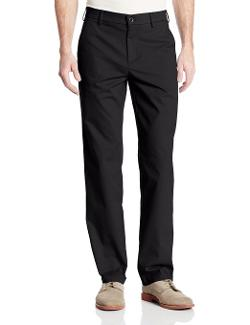 Haggar - Cotton Slack Straight Fit Plain Front Pants