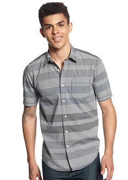 American Rag  - Sheldon Striped Shirt