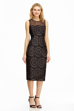 Maggy London - Spiral Cut Sheath Dress