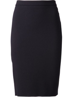 Lanvin - Back Zip Pencil Skirt