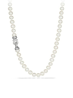 David Yurman  - Pearl Diamonds Necklace