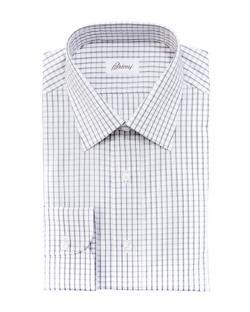 Brioni  - Check Dress Shirt