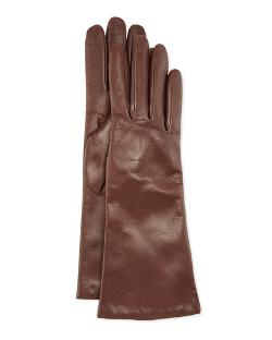 Portolano   - Cashmere Lined Leather Gloves
