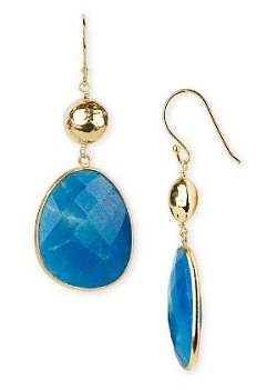 Argento Vivo - Hand-Pressed Double Drop Earrings