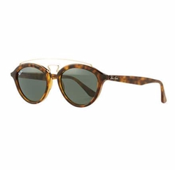 Ray-Ban  - Round Double-Bridge Acetate Sunglasses