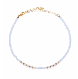 Ettika  - Beaded Gemstone Choker