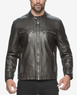 Marc New York - Moto-Style Faux-Leather Jacket