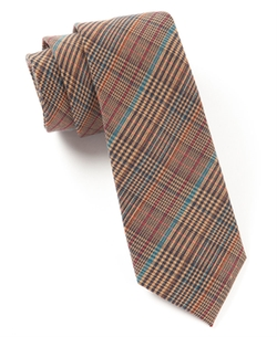 The Tie Bar - Colorful Glen Plaid Tie