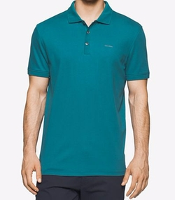 Calvin Klein - Interlock Liquid Cotton Polo Shirt
