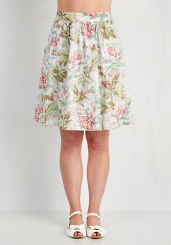 Mod Cloth - Plot Twist & Shout Skirt