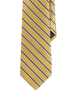 Ralph Lauren - Striped Silk-Cotton Tie