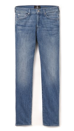 7 For All Mankind - Slimmy Slim Straight Luxe Performance Jeans