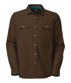 The North Face - Long Sleeve Kershaw Moleskin Shirt