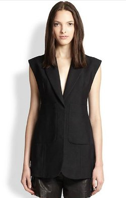 Alexander Wang  - Patch-Pocket Vest