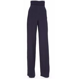 Cushnie et Ochs - Cummerbund High-Waist Trousers
