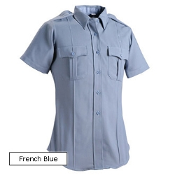 Fechheimer - Flying Cross Deluxe Tropical Weave Short-Sleeve Shirt