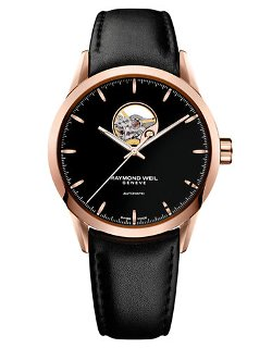 Raymond Weil  - Mens Freelancer Watch With Leather Strap