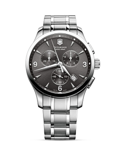 Victorinox Swiss Army Alliance  - Chronograph Stainless Steel Watch