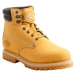Dickies - Raider Genuine Leather Steel Toe Work Boots - Wheat
