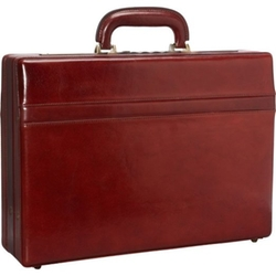 Mancini -  Leather Expandable Attaché Case