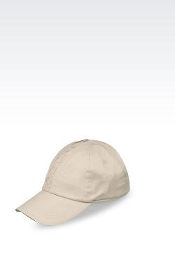 Emporio Armani - Cotton Baseball Cap with Embroidered Logo