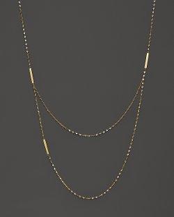 Lana Jewelry  - Tri Bar Necklace