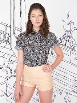 Nathalie Du Pasquier - Kouki Print Short Sleeve Casual Shirt