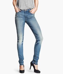 H&M - Skinny Regular Jeans
