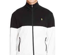 Polo Ralph Lauren  - Colorblocked Interlock Track Jacket