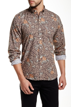 Kennington - Rosebud Long Sleeve Slim Fit Shirt