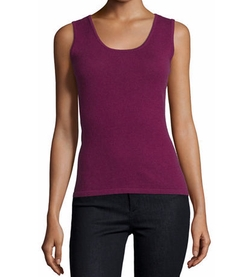 Neiman Marcus Cashmere Collection  - Modern Cashmere Tank