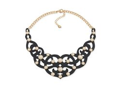 Carolee  - Pearl Bib Necklace