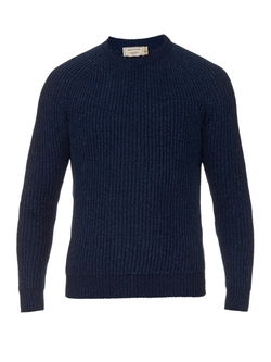 Maison Kitsuné - Ribbed-Knit Cotton Sweater