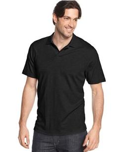 Tasso Elba  - Signature Interlock Solid Polo Shirt