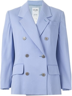 Céline Vintage - Double Breasted Blazer