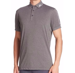 J. Lindeberg  - Solid Logo Golf Polo Shirt