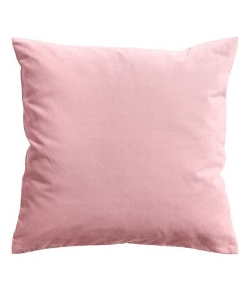 Ikea - Sanela Pink Cotton Velvet Throw Pillow