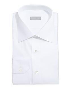 Stefano Ricci - Basic Solid Barrel-Cuff Dress Shirt