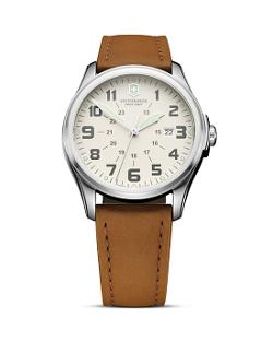 Victorinox Swiss Army  - Leather Watch