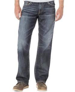 Silver Jeans - Straight-Leg Gordie Jeans