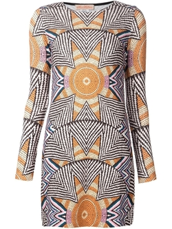 Mara Hoffman   - Mosaic Print Shift Dress