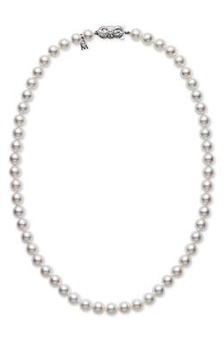Mikimoto - Akoya Cultured Pearl Short Necklace